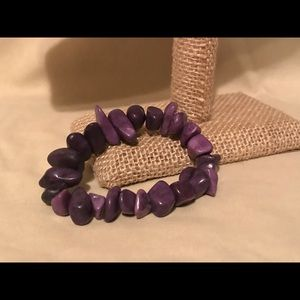 Jewelry - Amethyst chip bracelet